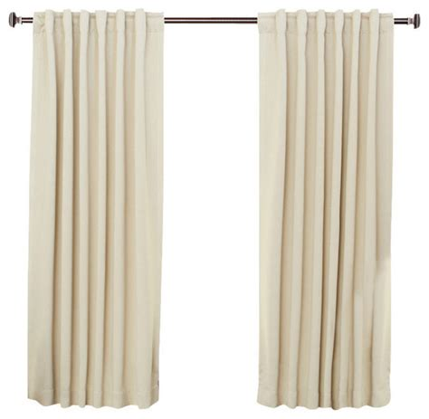 contemporary blackout curtains solid back tab thermal insulated blackout curtains