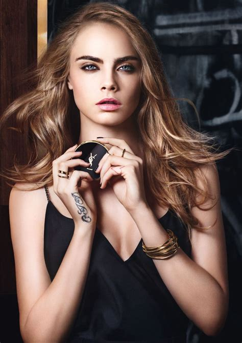 Cara Cara cara delevingne photoshoot for yves laurent s