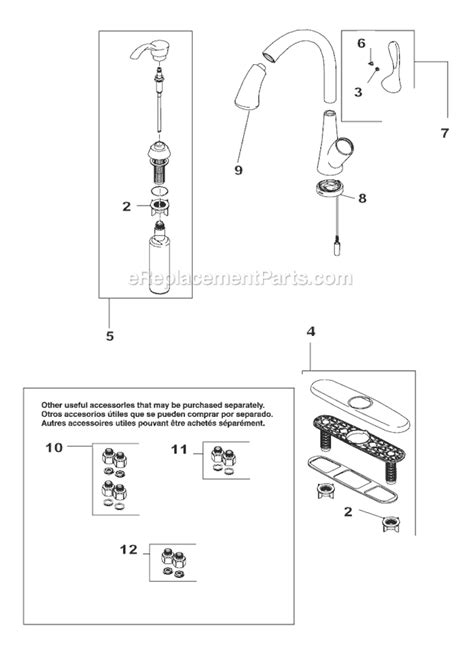 delta faucet 980t dst parts list and diagram ereplacementparts com delta faucet 19922t sssd dst parts list and diagram