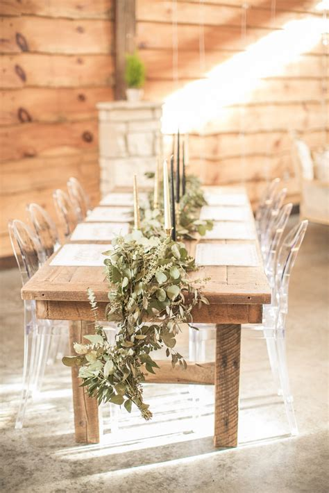 wood table rentals from unique events iowa unique