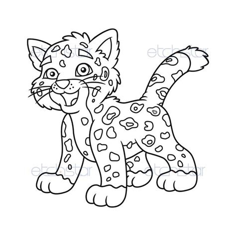 free coloring pages of jaguars