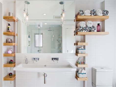 shelves in bathrooms ideas 23 bathroom shelf designs decorating ideas design