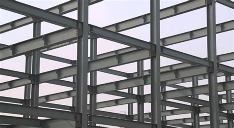 steel frame design exle construction of steel structure foundations columns