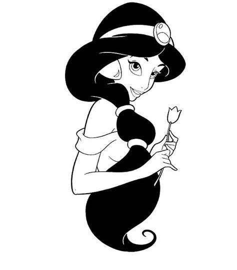 14 dessins coloriage jasmine 224 imprimer