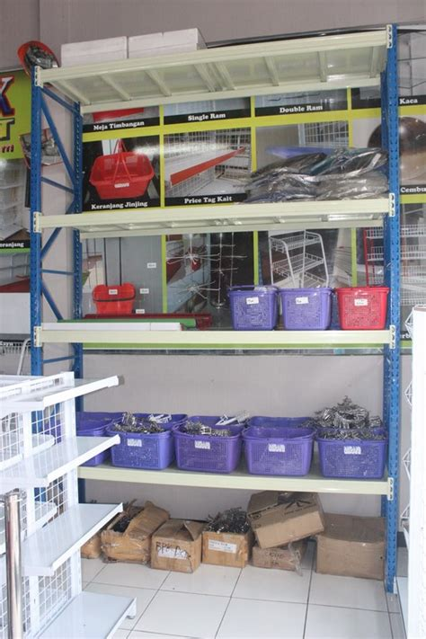 Jual Rak Dinding Bekas jual rak gudang medium duty rr50 rajarak indonesia www rajarakminimarket