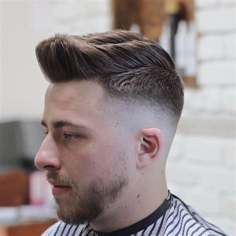 medium length fades skin fade with medium length textured hair