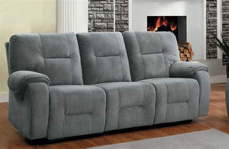 grey reclining couch homelegance bensonhurst power double reclining sofa blue