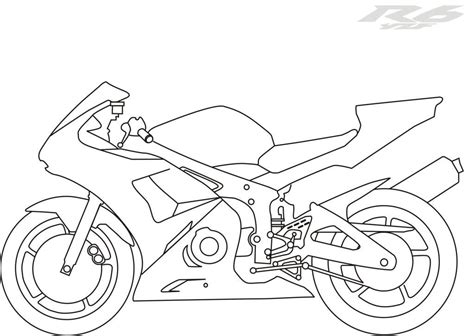 yamaha motorcycle coloring pages pictures of motorcycles to color coloring home