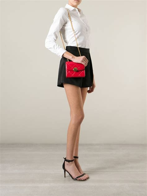 Marc Silvana Hobo by Lyst Marc Quilted Trouble Crossbody Bag In