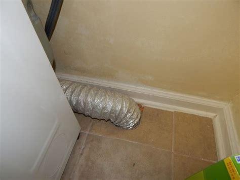 Dryer Vent Through Floor by Flex Dryer Vent Through Floor Only Solid Metal Should