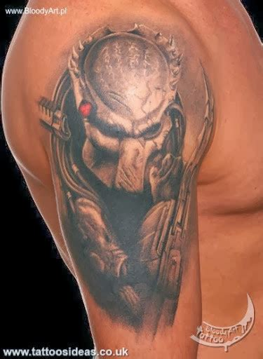 predator tattoo predator tattoos pictures tattoos ideas