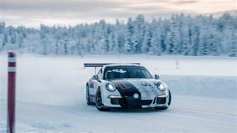 Porsche Winter Driving School by Cold Driving Pleasure With Porsche Carrrs Auto Portal
