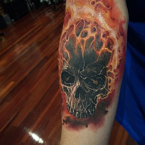 ghost rider tattoo designs ghost rider on arm best ideas gallery
