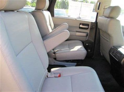 2016 toyota sequoia captains chairs sell used certified limited nav third row seat cd 2nd row