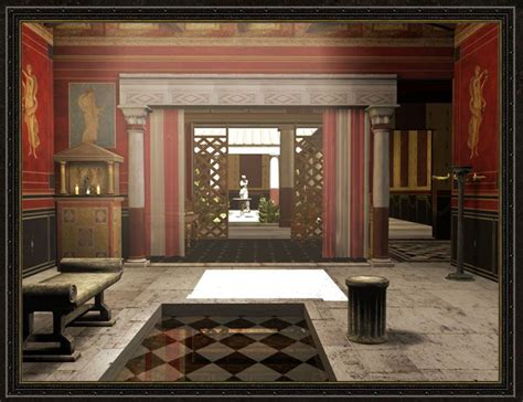 Ancient Interior by Ancient Houses On Ancient Rome