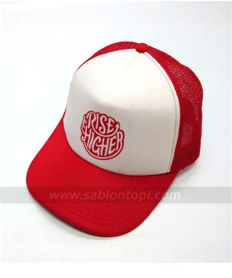 Trucker Hat Jaring Imbong topi snapback juventus sablontopi