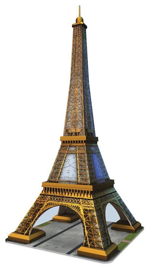 Puzzle Eiffel Tower eiffel tower 3d 3d puzzle puzzlewarehouse