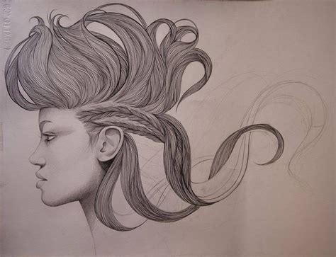 pencil drawing of hair styles of men hairstyle pencil drawing by mercedes image