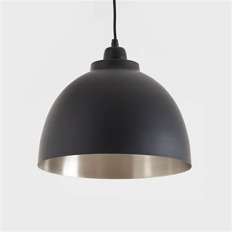 Black Pendant Lighting Black And Nickel Pendant Light