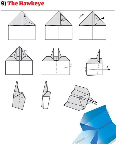 Different Ways To Make Paper Airplanes - how to make different types of paper airplanes trusper