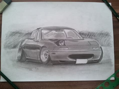 miata drawing mazda miata mx 5 by tonysdesign on deviantart