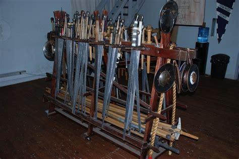 weapon racks weapons rack unit 66 medieval wagons pinterest