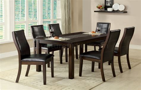 Townsend Dining Table Cm3669t Townsend I Dining Table In Brown Cherry W Options