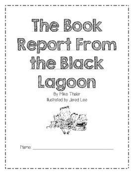 book report from the black lagoon the book report from the black lagoon reading