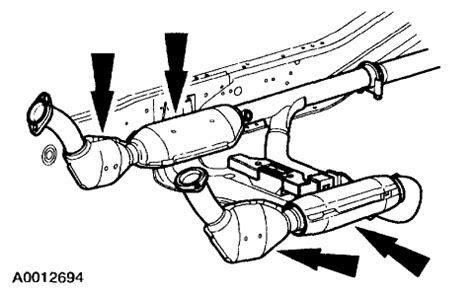 ford f150 exhaust diagram exhaust diagram ford f150 forum community of ford