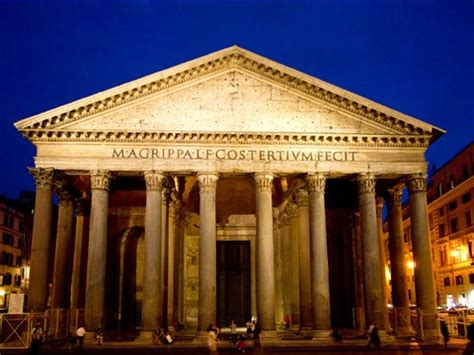 the pantheon, rome, apollodorus of damascus, 126ad