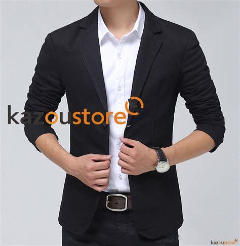 Promo Xj1 Kemeja Pria Hitam Quality detil produk blazer pria hitam nbc128 kazoustore