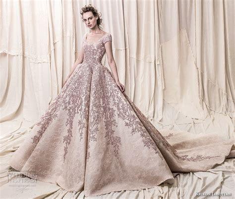 Wedding Dress 2018 by Krikor Jabotian 2018 Wedding Dresses Wedding