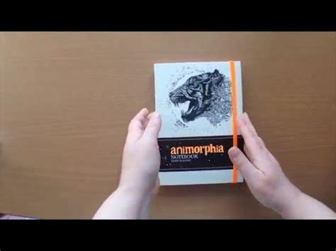 animorphia notebook animorphia notebook by kerby rosanes colouring book flip through youtube