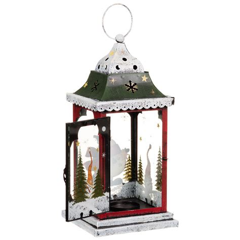 snowman christmas lantern christmas decorations b m