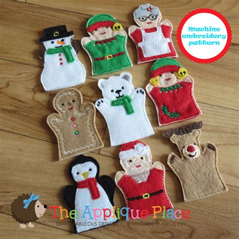 puppet only one you puppet set christmas finger puppets only
