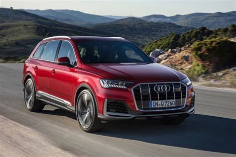 audi hybrid suv 2020 2020 audi q7 three row suv gets updated styling tech