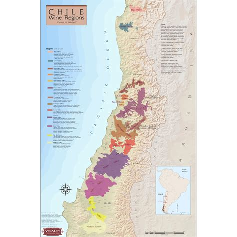 Can You Match The Wine To Its Region Of Origin by Wine Regions Of Chile Vinoscenti Wine Cellar