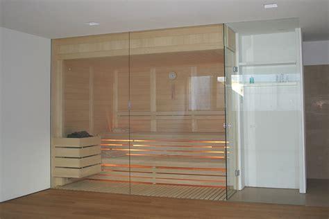 sauna mit glasfront modern grandl sauna und innenausbau gmbh