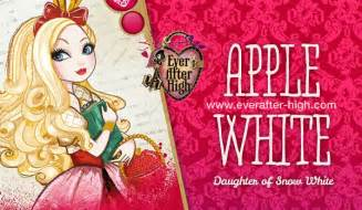 apple white character