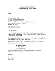 letter of intent cover letter best photos of cover letter of intent sles letter of