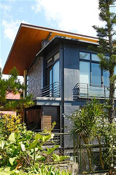 wooden rest house design wood and stone change a three storey rest house in tagaytay rl