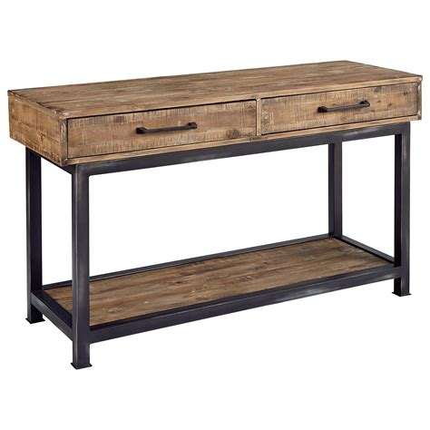 home console magnolia home by joanna gaines industrial pier and beam