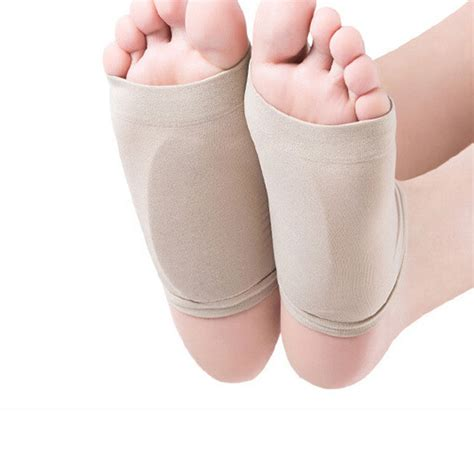 Medial Arch Support Insole For Flat Foot Kaki Lepek Cushion aliexpress buy gel plantar fasciitis arch support