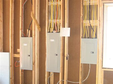 in of new home elecrtical wiring by excel electric