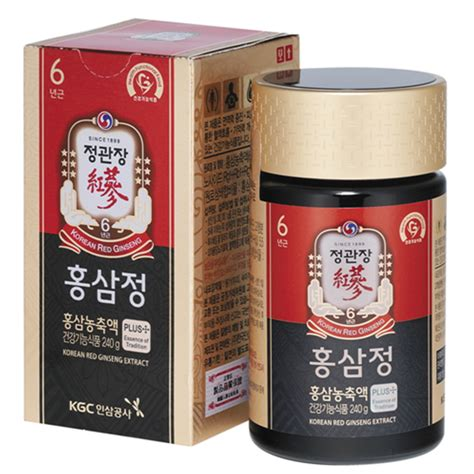 Korean Ginseng Extract kgc정관장 korean ginseng extract 240g chamjon