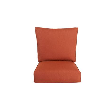 Patio Lounge Chair Cushions Brown Northshore Replacement Outdoor Lounge Chair Cushion In Harvest M6061 Lc2 The Home