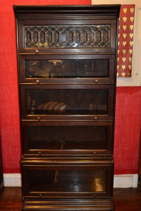 barrister bookcase leaded glass mahogany barrister bookcase stacking bookcase in love