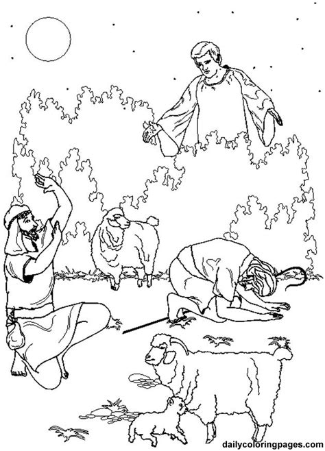 coloring pages christmas shepherds best photos of nativity shepherd s coloring pages