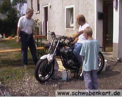 Wo Darf Man Motorrad Fahren Ben by Motorrad Schlachtung