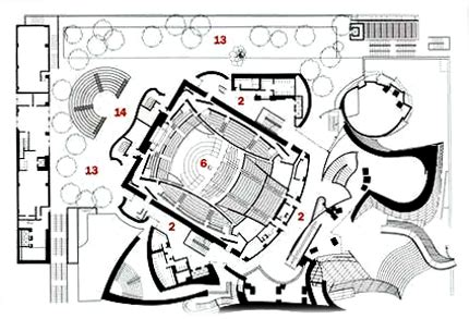 walt disney concert hall floor plan 無標題文件
